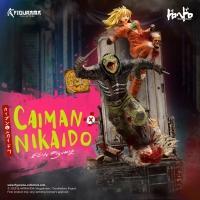 Figurama Collectors - DOROHEDORO: CAIMAN & NIKAIDO ELITE FIGUMIZ STATUE