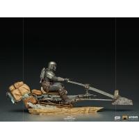 [Pre-Order] Iron Studios- Dark Trooper BDS Art Scale 1/10 - The Mandalorian