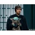[Pre-Order] Iron Studios - Luke Skywalker, R2-D2 and Grogu - Legacy Replica 1/4 - The Mandalorian