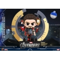 Hot Toys - COSB869 - The Avengers - Iron Man Mark VI with Suit-Up Gantry Cosbaby (S) Bobble-Head