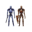 "NECA - Robocop Vs The Terminator - 7"" Endoskeleton  2 Pack"