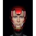 1/6 Iron Man helmet peppers head carved HT MK42