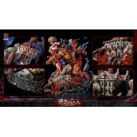 Jimei Palace - Attack on Titan - Eren Vs Female Titan