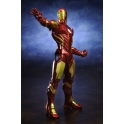 Kotobukiya - ARTFX+ - AVENGERS MARVEL NOW! - Iron Man (Red)