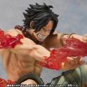 Bandai - Figuarts Zero D. Ace Battle Cross Fire Ver. - Tamashii Limited