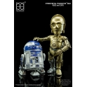 [PO] HEROCROSS - Hybrid Metal Action Figuration - Star Wars - C-3PO and R2-D2